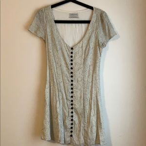 Urban Outfitters Mini button up dress